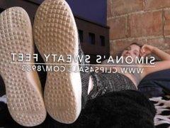 Simona's Sweaty Feet - www.c4s.com/8983/18129304