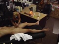 Hot Oriental Babe Blows & Bangs Shop Owner To Close A Deal