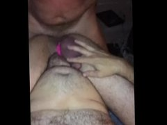 Fuckin a hot bud while my bf videos us