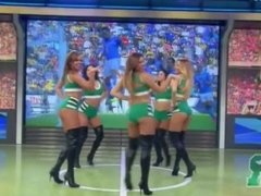 Latina Dancers in Thigh High Boots