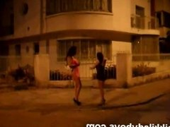 Street walking Normal Work for Nikki Ladyboys and friends