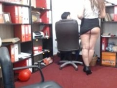 Fatisa0124 Horny day at the ofice part1