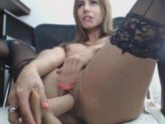 Latin spread legs on chair - Add her Snapchat MaryMeys