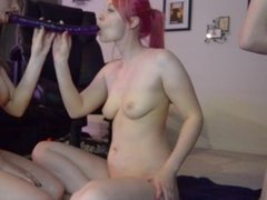 Double Dildo and Sex