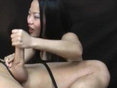femdom handjob - niya yu
