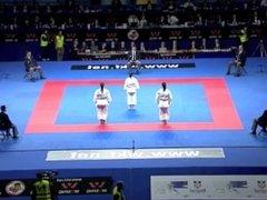 Karate Female Team - Serbia vs Italy part 2