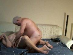 Old German Couple Having Fun