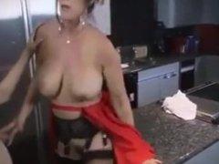 Stepmom & Stepson (mom makes stepson Breakfast)