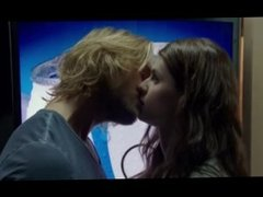Alexandra Daddario Sex Scene - The Layover