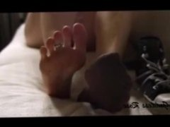 Polish Goddess Rose strong feet aroma, Foot Tease..