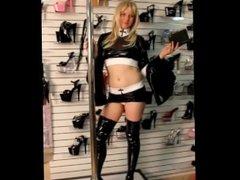 Nun Stripping in Wetlook