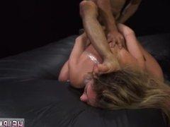 Huge cock brutal double penetration