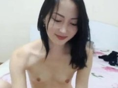 Asian cam girl squirt show