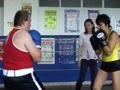 Mixed Boxing : Sam VS Beat (Belgium)