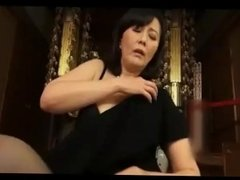 japanese widow mother masturbating