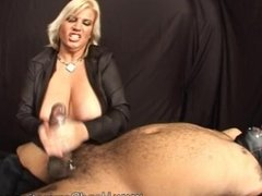 Big Titty Dominatrix Hand Job Cum recap