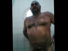 Fat Hairy Fat Cock Daddy Showering