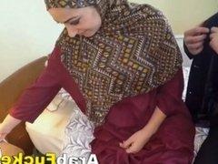 Poor Arab Chick Desperate For Cash Fucks Big White Dick