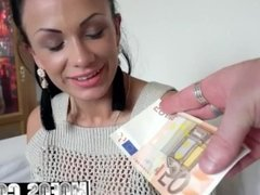 Mofos - Public Pick Ups - Busty Euro Chick gets paid for sex starring Sama