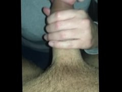 girl gives me a sloppy blowjob she loves all of my big dick in her mouth