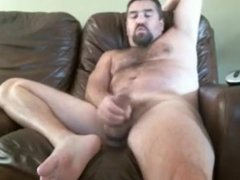 Chubby Bear Daddy With A Big Fat Cock Hot Cum So Hot