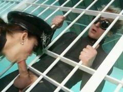 Gorgeous Liza Del Sierra in hot femdom scene