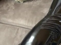 Shiny Wetlook Leggings Brainfuck