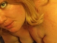 Slutty College Teen BBW Gives An Amazing Blowjob and Gets aFace Full of Cum