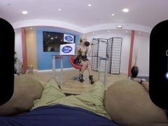 BaDoink VR Aaliyah Love Enjoys Revenge Sex Live On Radio VR Porn