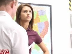 Hot High School Girl Presley Dawson Fucked By Her PE Coach With A Big Cock