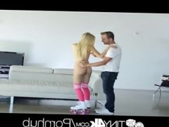 Tiny4k Blonde beauty Alex Grey big dick fuck and facial