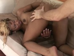 Little Milf Fucked hard and Gets Mouth Full of CUM