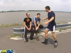Skater Boys Park Blowjobs