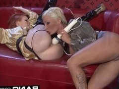 Blonde And Busty Tarra White Compilation