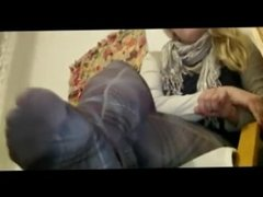 Miss Teacher Sexy Legs In Pantyhose