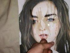 Maisie Williams cum tribute 11