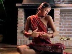 Desi Gorgeous skinny Indian Young Girl 18 erotic dance