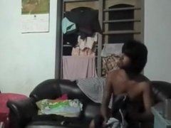indian aunty with young boyfriend