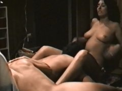 Threesome Pussy Eating Dude Whipped - Homemade FFM Boobs and Ass