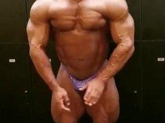 Muscle worship cock