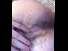 Teen presents his cock and ass. Who wants a turn?