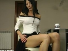Hotkinkyjo - White and black anal fisting
