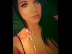 CUM ART - CumTribute to mallorythewhore - Huge Load!