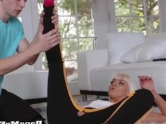 Cock-Hungry Step Mom Fucks Her Step Son After Getting Worked Out