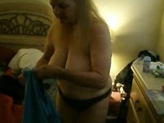 Exposed Wife Cora Gets Dressed