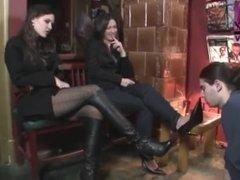 cruels mistress humilate a slave - HD