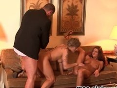 Euro Whores CANDY CAT and CRYSTINA Anal Ass Fucked and Cum Swap Share!