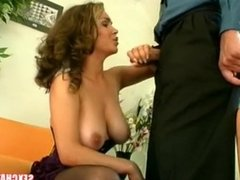 Big tits mom cheats on her husband