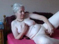 Granny Solo On Cam