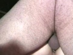 Chubby get dick in her ass